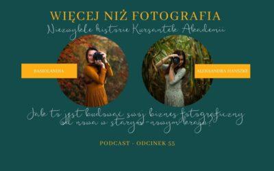 Odcinek 055. Jak to jest budować swój biznes fotograficzny od nowa w starym-nowym kraju?